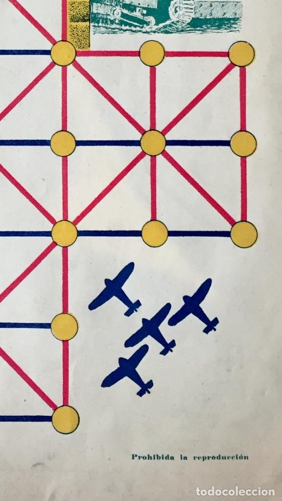 Juegos Antiguos: Antiguo juego el asalto al castillo 1920 original completo peones generales instrucciones luiter - Foto 26 - 178833910