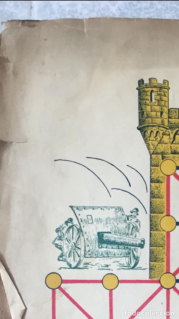 Juegos Antiguos: Antiguo juego el asalto al castillo 1920 original completo peones generales instrucciones luiter - Foto 27 - 178833910