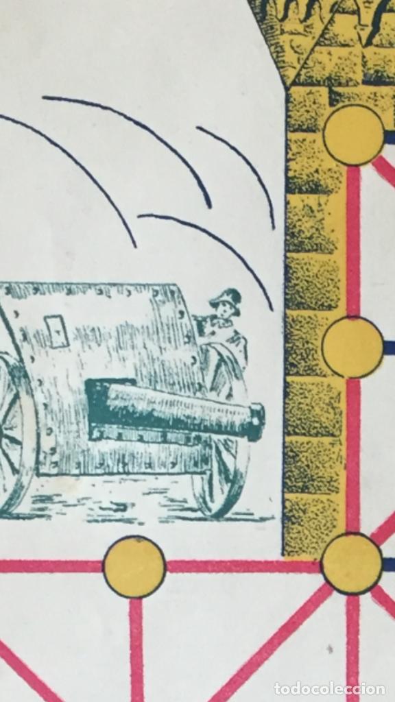 Juegos Antiguos: Antiguo juego el asalto al castillo 1920 original completo peones generales instrucciones luiter - Foto 30 - 178833910