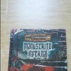 Juegos Antiguos: DEVIR - DUNGEONS AND DRAGONS 3 - MANUSCRITO INFERNAL DD1024. Lote 116367915