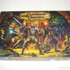 Juegos Antiguos: DUNGEONS DRAGONS. LA AVENTURA FANTASTICA EL JUEGO DE MESA - PARKER 2003 (COMPLETO). Lote 116916163