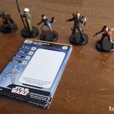 Alte Spiele - LOTE 5 FIGURAS STAR WARS. LEGACY OF THE FORCE. NUEVAS. - 116938867