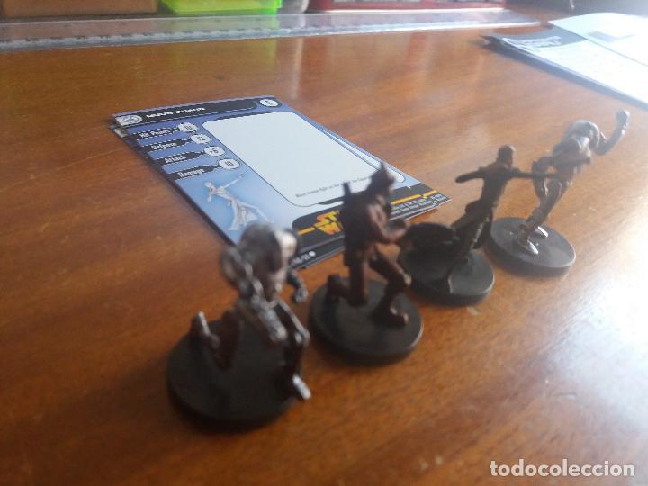 Juegos Antiguos: LOTE 4 FIGURAS STAR WARS. REVENGE OF THE SITH. NUEVAS. - Foto 4 - 116939395