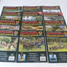 Juegos Antiguos: REVISTA DE MINIATURAS (28MM,15MM) WARGAMES ILLUSTRATED AÑO 2008 (COMPLETO 12 NÚMEROS). Lote 117014619