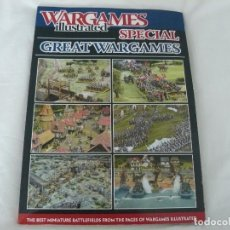 Juegos Antiguos: REVISTA DE MINIATURAS (28MM,15MM) WARGAMES ILLUSTRATED SPECIAL GREAT WARGAMES. Lote 117023075