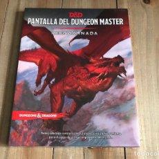 Juegos Antiguos: DUNGEONS & DRAGONS 5 EDICIÓN - PANTALLA DEL DUNGEON MASTER REENCARNADA - EDGE - PRECINTADA. Lote 122928768