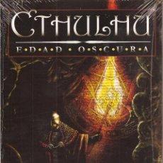 Giochi Antichi: CTHULHU EDAD OSCURA - ROL - PRECINTADO A ESTRENAR. Lote 243766910