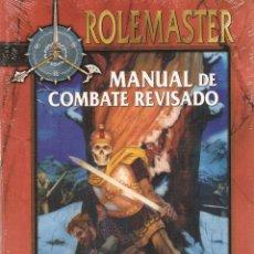 Juegos Antiguos: ROL: ROLEMASTER: MANUAL DE COMBATE REVISADO - PRECINTADO A ESTRENAR. Lote 207156326
