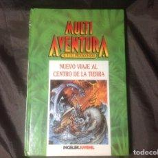 Juegos Antiguos: LIBROJUEGO MULTI AVENTURA INGELEK JUVENIL NÚMERO 1 NUEVO VIAJE AL CENTRO DE LA TIERRA 1986. Lote 117902899