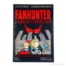 Juegos Antiguos: FANHUNTER / EL JUEGO DE ROL EPICODECADENTE RPG (2ª EDICIÓN) GUSA COMICS 1993 CELS PIÑOL. Lote 118647487
