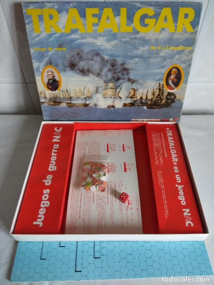 Juegos Antiguos: JUEGO WARGAME NAC/TRAFALGAR. - Foto 2 - 118826083