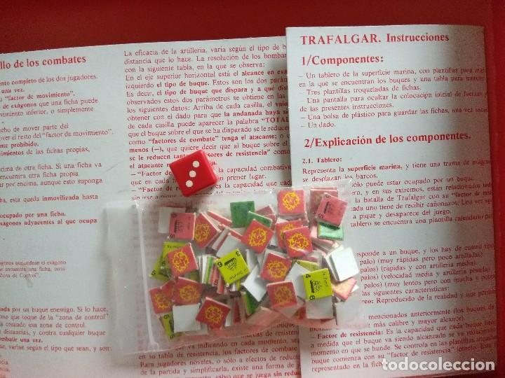Juegos Antiguos: JUEGO WARGAME NAC/TRAFALGAR. - Foto 4 - 118826083