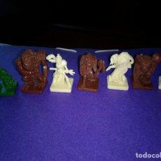 Juegos Antiguos: LOTE 7 FIGURAS DEL JUEGO DE MESA O ROL DUNGEONS DRAGONS DE PARKER-HASBRO . Lote 120240227