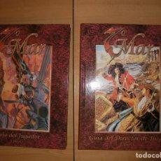 Juegos Antiguos: MANUALES 7 MAR, PIRATAS, ROL, POR 2. Lote 120288183