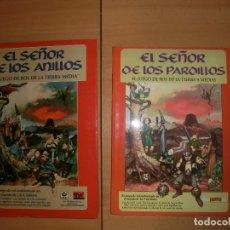 Juegos Antiguos: EL SEÑOR DE LOS ANILLOS MANUAL. Lote 120330095