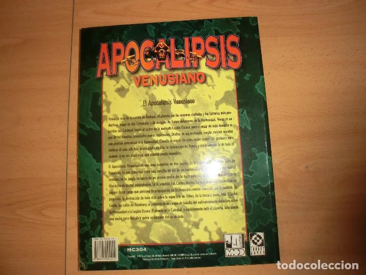 Juegos Antiguos: apocalipsis venusiano, saga de warzone rol - Foto 3 - 120334819