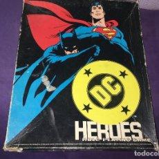 Juegos Antiguos: JUEGO DE ESTRATEGIA DC HEROES DE MAYFAIR GAMES. Lote 120785707