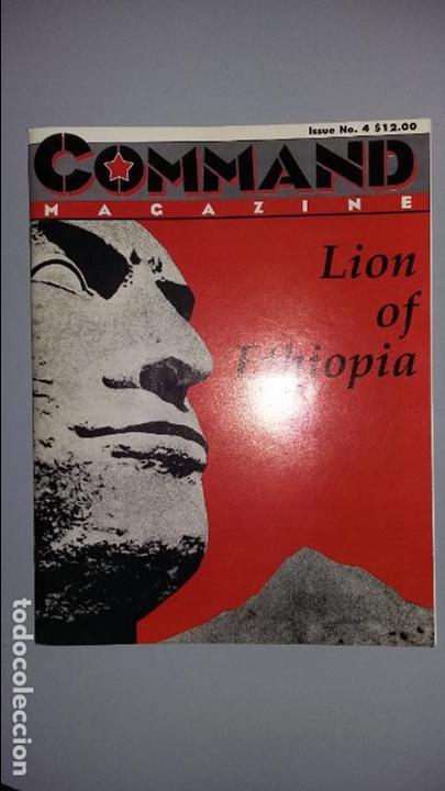 WARGAME COMMAND Nº 4: LION OF ETHIOPIA (Juguetes - Rol y Estrategia - Otros)