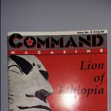 Juegos Antiguos: WARGAME COMMAND Nº 4: LION OF ETHIOPIA. Lote 120916179