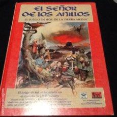 Juegos Antiguos: EL SEÑOR DE LOS ANILLOS BASICO EL JUEGO DE ROL DE LA TIERRA MEDIA 1A EDICION. Lote 121466339