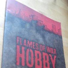 Juegos Antiguos: FLAMES OF WAR. HOBBY. EN INGLES.. Lote 121536759