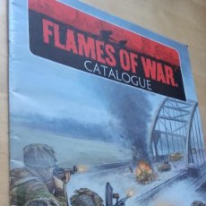 Juegos Antiguos: FLAMES OF WAR, CATALOGUE. THE WORLD WAR II MINIATURES GAME. EN INGLES.. Lote 121537127