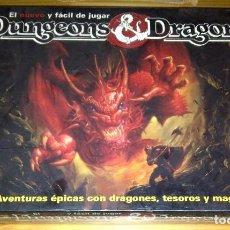 Juegos Antiguos: DUNGEONS AND & DRAGONS LA CAJA NEGRA 9280 DE TSR BORRAS 1992 NUEVO PRECINTADO. Lote 121852023