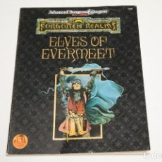Juegos Antiguos: ELVES OF EVERMEET - DUNGEONS AND DRAGONS - FORGOTTEN REALMS. Lote 121901663