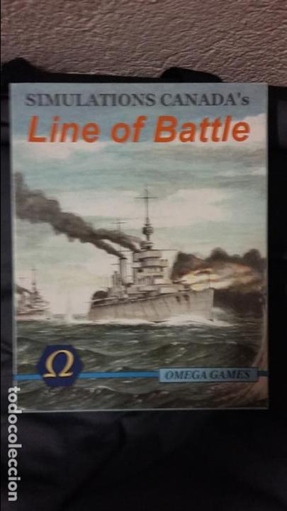 WARGAME LINE OF BATTLE. OMEGA GAMES (Juguetes - Rol y Estrategia - Otros)