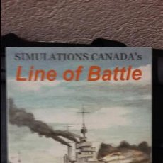 Juegos Antiguos: WARGAME LINE OF BATTLE. OMEGA GAMES. Lote 121987095