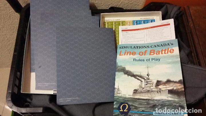 Juegos Antiguos: wargame line of battle. Omega games - Foto 2 - 121987095
