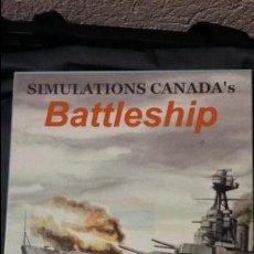 Juegos Antiguos: WARGAME BATTLESHIP. OMEGA GAMES. Lote 121987187
