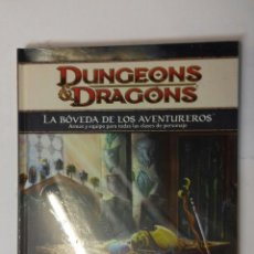 Juegos Antiguos: LA BOVEDA DE LOS AVENTUREROS SUPLEMENTO DE ROL PARA DUNGEONS & DRAGONS 4ª EDICIÓN DE DEVIR. Lote 122036547
