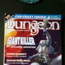 Juegos Antiguos: DUNGEON MAGAZINE 93 / POLYHEDRON THUNDERBALL RALLY (EN INGLÉS). Lote 122178371