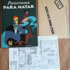 Juegos Antiguos: JUEGO COMPLETO LIBRO ROL MÁS DOSSIER Y MAPA JAMES BOND 007 PANORAMA PARA MATAR JOC INTERNACIONAL 502. Lote 122387555