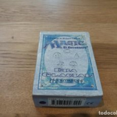 Juegos Antiguos: MAGIC. EL ENCUENTRO. LA ERA GLACIAL. GARFIELD. DECKMASTER. 1996. JUEGO ROL. COMPLETO Y CON LIBRITO.. Lote 122866147