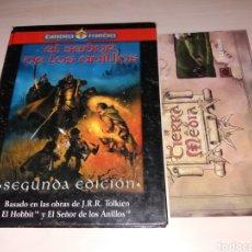 Juegos Antiguos: TIERRA MEDIA - EL SEÑOR DE LOS ANILLOS + MAPA. Lote 123002915