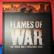 Juegos Antiguos: LIBRO REGLAMENTO FLAMES OF WAR EL JUEGO DE MINIATURAS DE LA SEGUNDA GUERRA MUNDIAL 1942-43 (INGLÉS). Lote 123287206