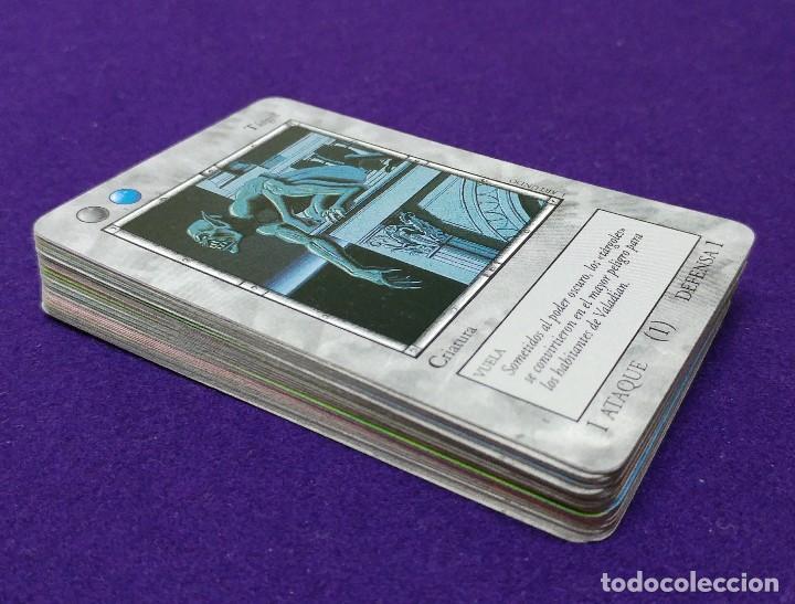 Juegos Antiguos: 47 CARTAS DE LA EXPANSION DE LA IRA DEL DRAGON. MERCEDARIAN. JUEGO DE NAIPES FOURNIER. ROL - Foto 2 - 123693295