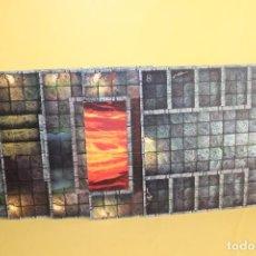 Juegos Antiguos: JUEGO DE MESA DUNGEONS DRAGONS DE PARKER AÑO 2003 HASBRO - TABLERO COMPLETO. Lote 123729983