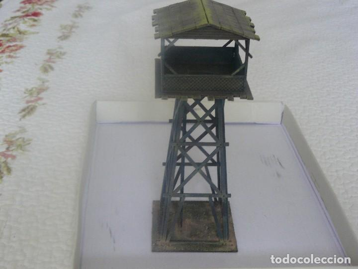 Juegos Antiguos: 28mm SARISSA PRECISION SERIE PACIFICO O INDOCHINA TORRE DE VIGILANCIA PINTADA EN ALTA CALIDAD - Foto 3 - 124276259