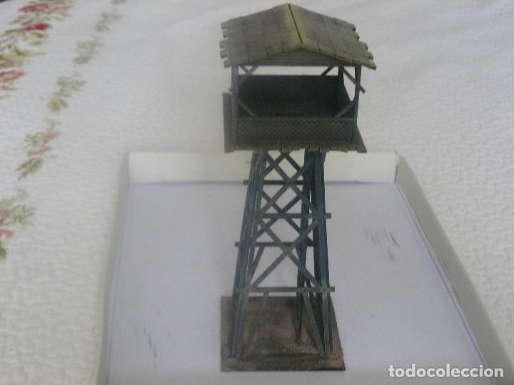 Juegos Antiguos: 28mm SARISSA PRECISION SERIE PACIFICO O INDOCHINA TORRE DE VIGILANCIA PINTADA EN ALTA CALIDAD - Foto 4 - 124276259