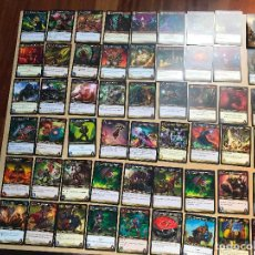 Juegos Antiguos: 56 CARTAS DISTINTAS DE WORLD OF WARCRAFT. Lote 126803519