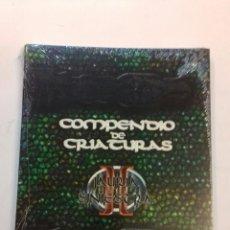 Juegos Antiguos: COMPENDIO DE CRIATURAS II JAURIA SINIESTRA , D20 DE LA FACTORIA DE IDEAS SUPLEMNENTO DE ROL . Lote 126852515