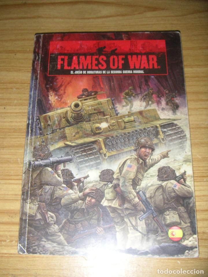 FLAMES OF WAR (EL JUEGO DE MINIATURAS DE LA 2ª GUERRA MUNDIAL) LIBRO DE REGLAS EN CASTELLANO (Juguetes - Rol y Estrategia - Otros)