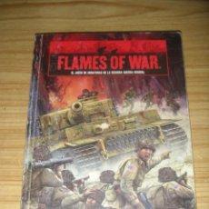 Old Games - Flames of war (El juego de miniaturas de la 2ª guerra mundial) libro de reglas en castellano - 127148787