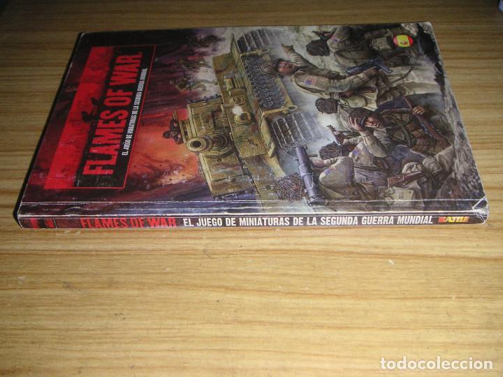 Juegos Antiguos: Flames of war (El juego de miniaturas de la 2ª guerra mundial) libro de reglas en castellano - Foto 3 - 127148787