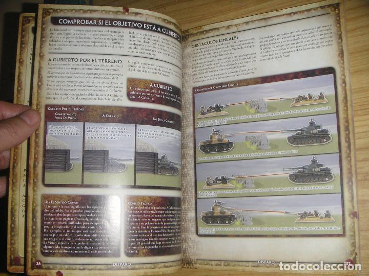 Juegos Antiguos: Flames of war (El juego de miniaturas de la 2ª guerra mundial) libro de reglas en castellano - Foto 5 - 127148787