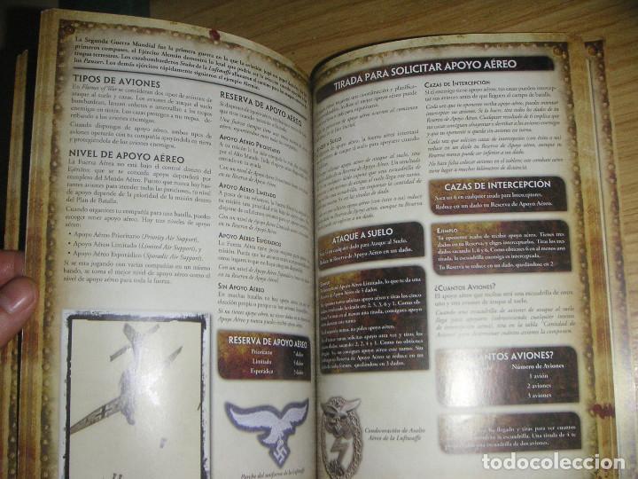 Juegos Antiguos: Flames of war (El juego de miniaturas de la 2ª guerra mundial) libro de reglas en castellano - Foto 6 - 127148787