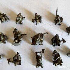Jeux Anciens: 14 ENANOS DE METAL (ANTIGUOS). Lote 127498059